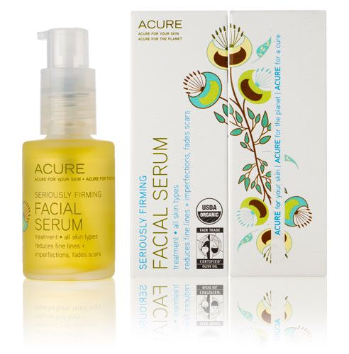 Seriously Glowing Facial Serum Facial Cream By Acure