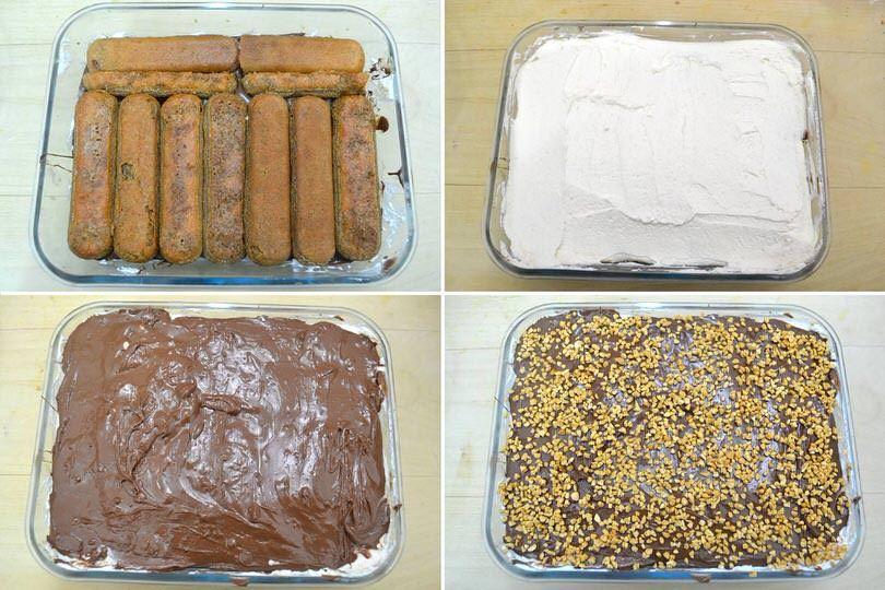 Ricetta Tiramisu Di Misya.Tiramisu Alla Nutella Ricetta Ricette Ricetta Del Tiramisu Cibo