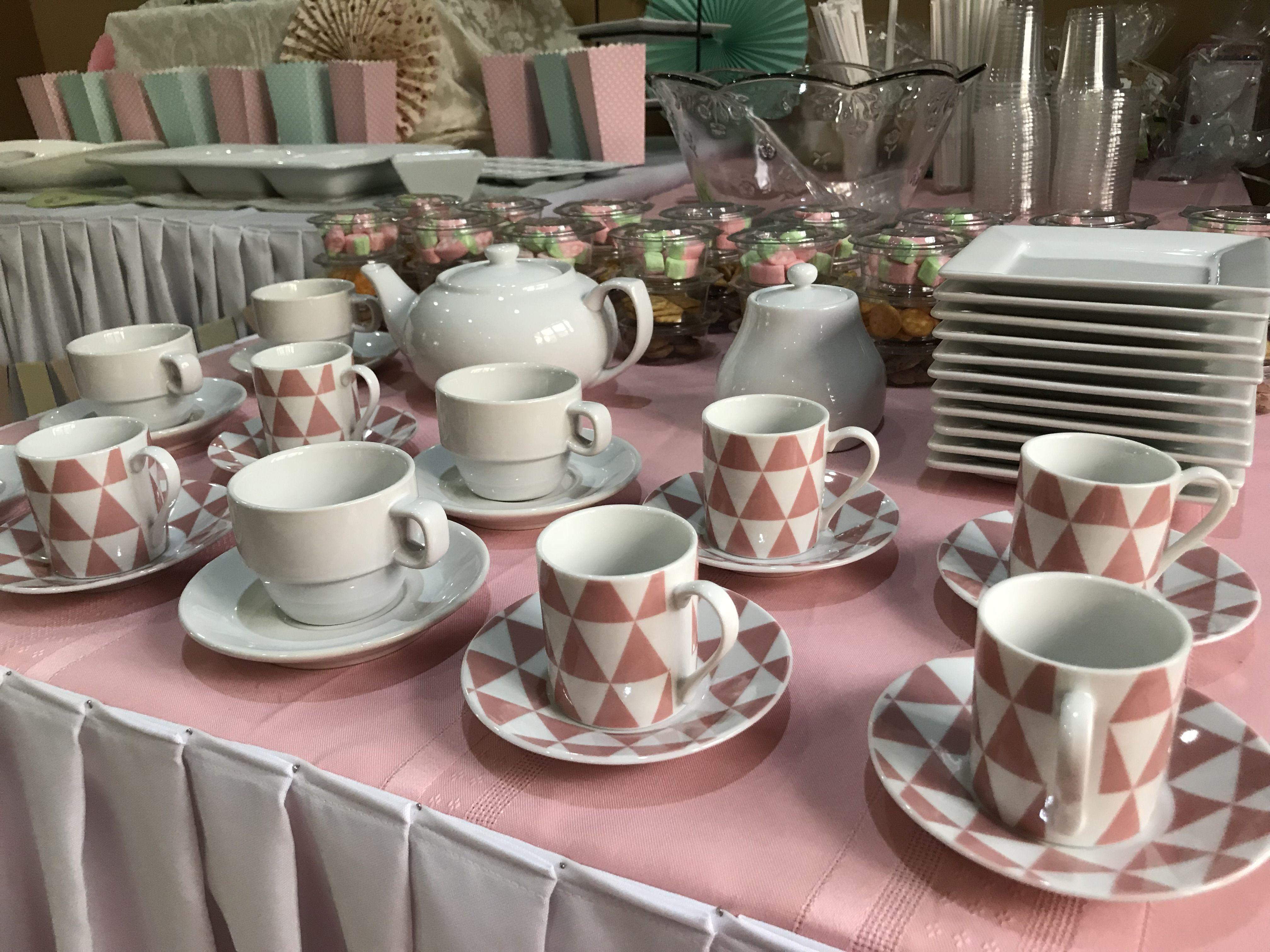 Custom Design For Tea Party Themed Birthday Party