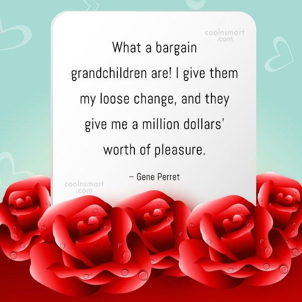 Grandchildren Quote: What a bargain grandchildren are! I give... #grandchildrenquotes Grandchildren Quote: What a bargain grandchildren are! I give... #grandchildrenquotes