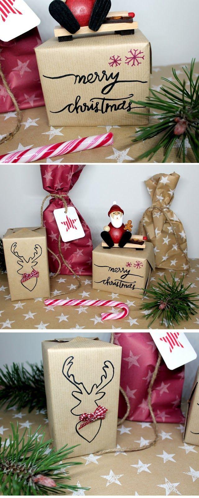 Gewaltig Weihnachtsgeschenke Zum Selbermachen Das Beste Von Anzeige: Diy Geschenke Wunderschön Und Individuell Verpacken: