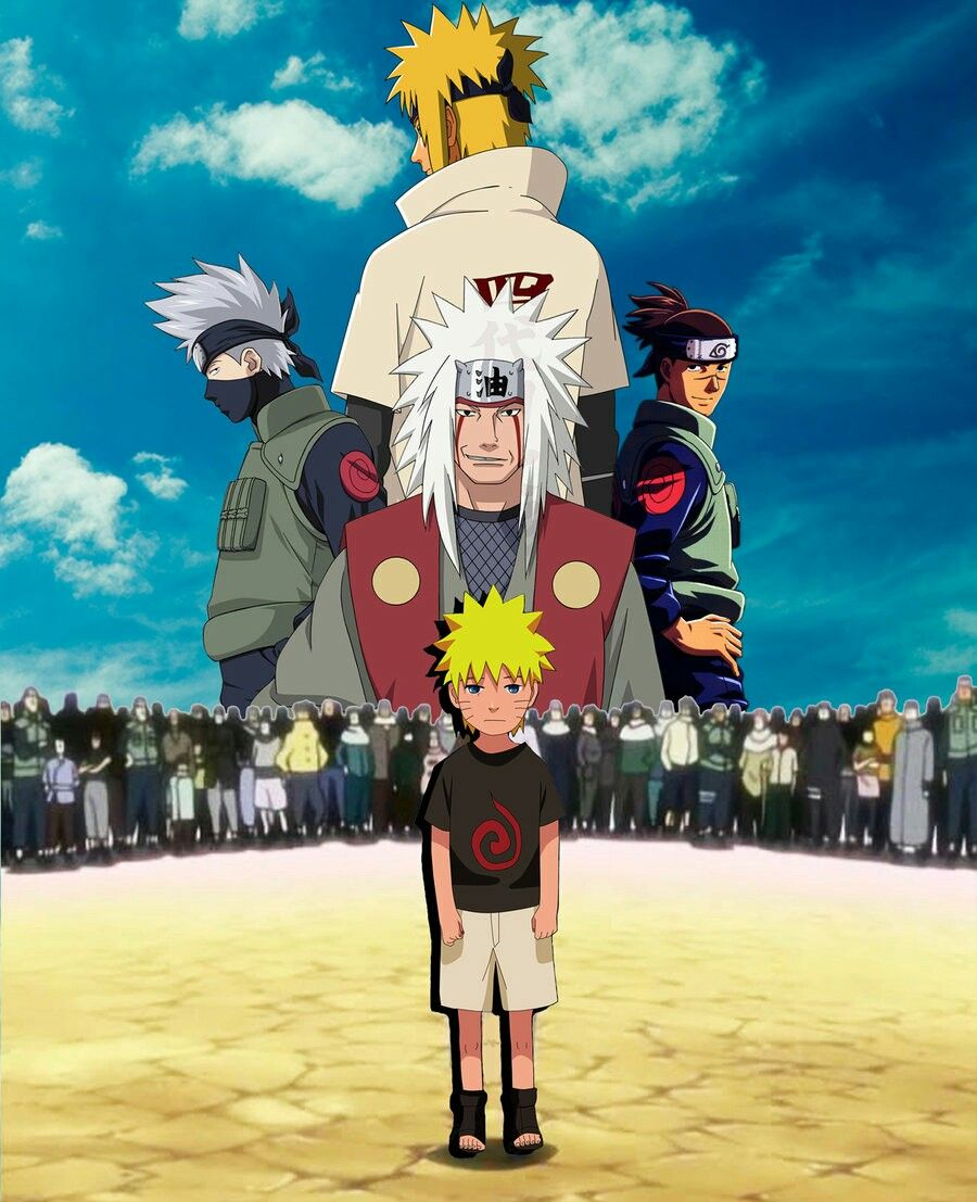 Naruto Shippuden art | Naruto, Sasuke et Jiraya