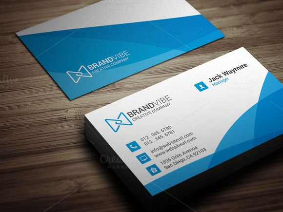 Creative Business Card Template by Arslan on Creative Market ...