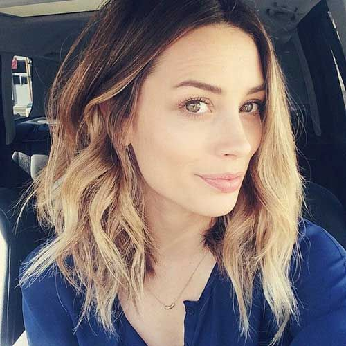 Outstanding Long Wavy Bob Ombre Hair For Women Hair Pinterest Long Wavy Short Hairstyles Gunalazisus