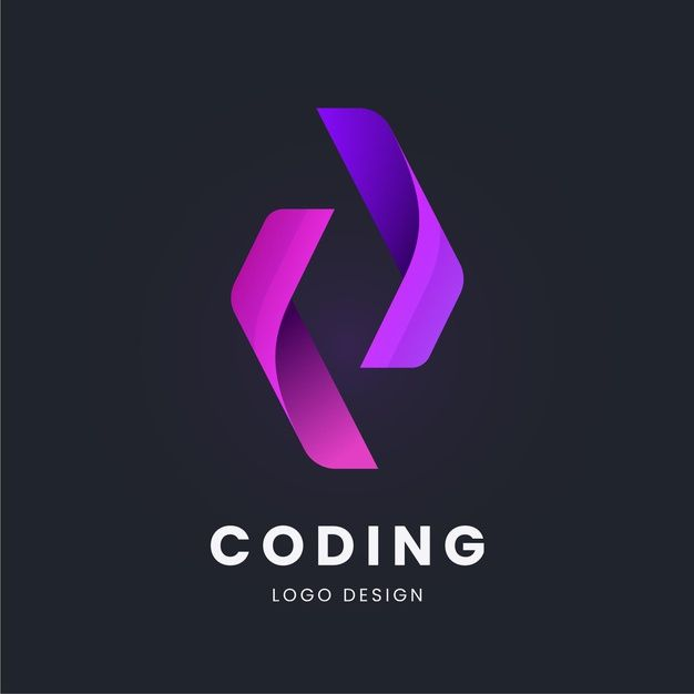 Download Flat Code Logo Collection For Free In 2021