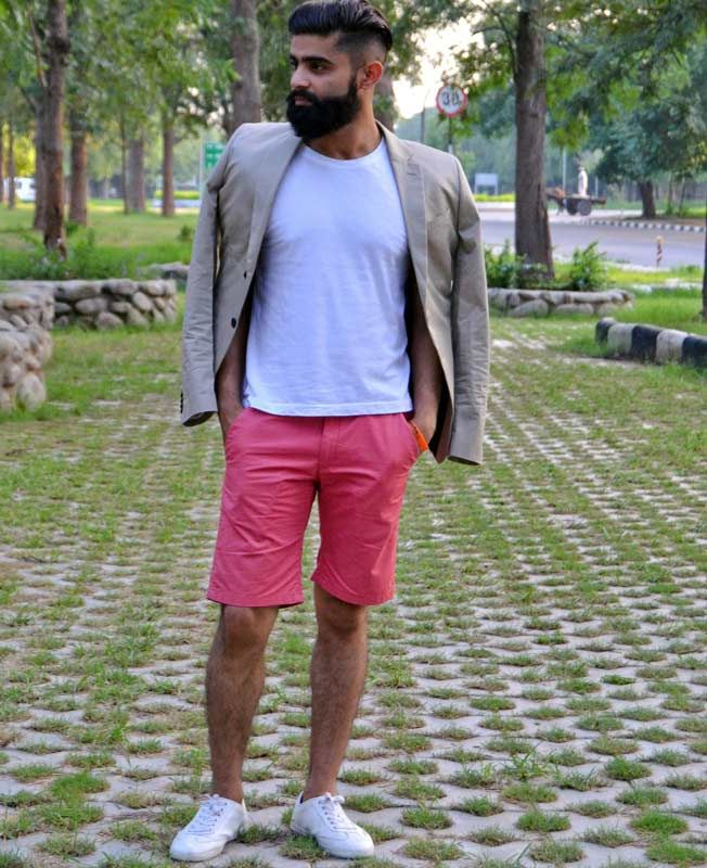 Pink shorts for men | Dapper! | Pinterest | Pink shorts