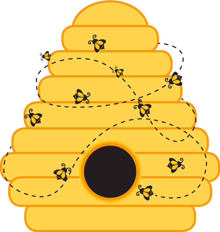 Template Of A Bumble Bee Free Vector Pinterest Bee Bee