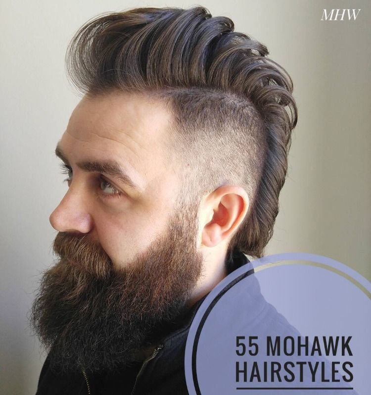 55 Edgy Or Sleek Mohawk Hairstyles For Men Mohawk Hairstyles Men Mohawk Hairstyles Mohawk For Men