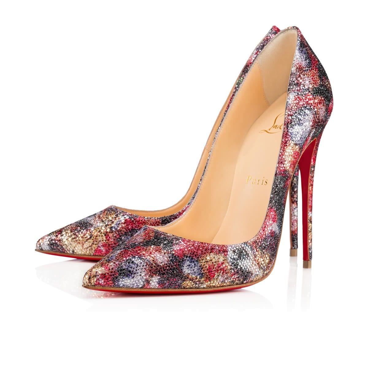 CHRISTIAN LOUBOUTIN So Kate 120 Multi Glitter - Women Shoes - Christian  Louboutin.  christianlouboutin  shoes   f8b2ab0c48