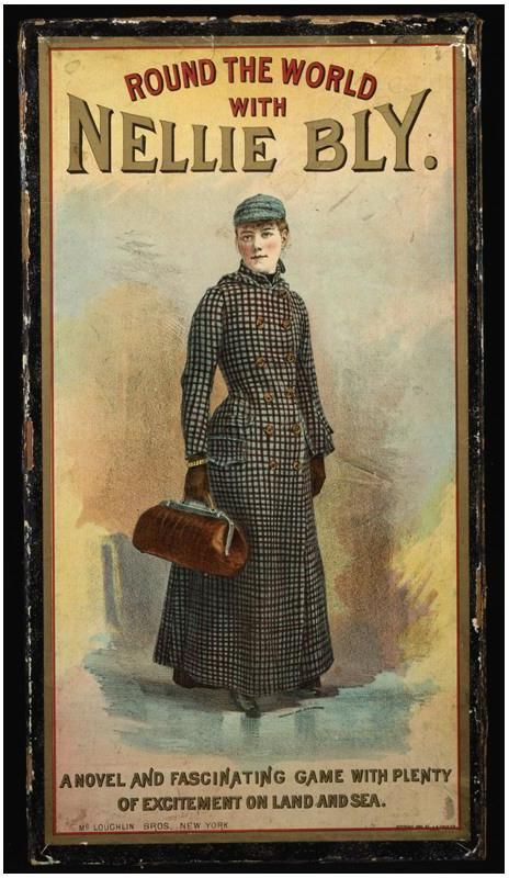 Nellie Bly Enterprising Reporter Nellie Bly Travel Around The