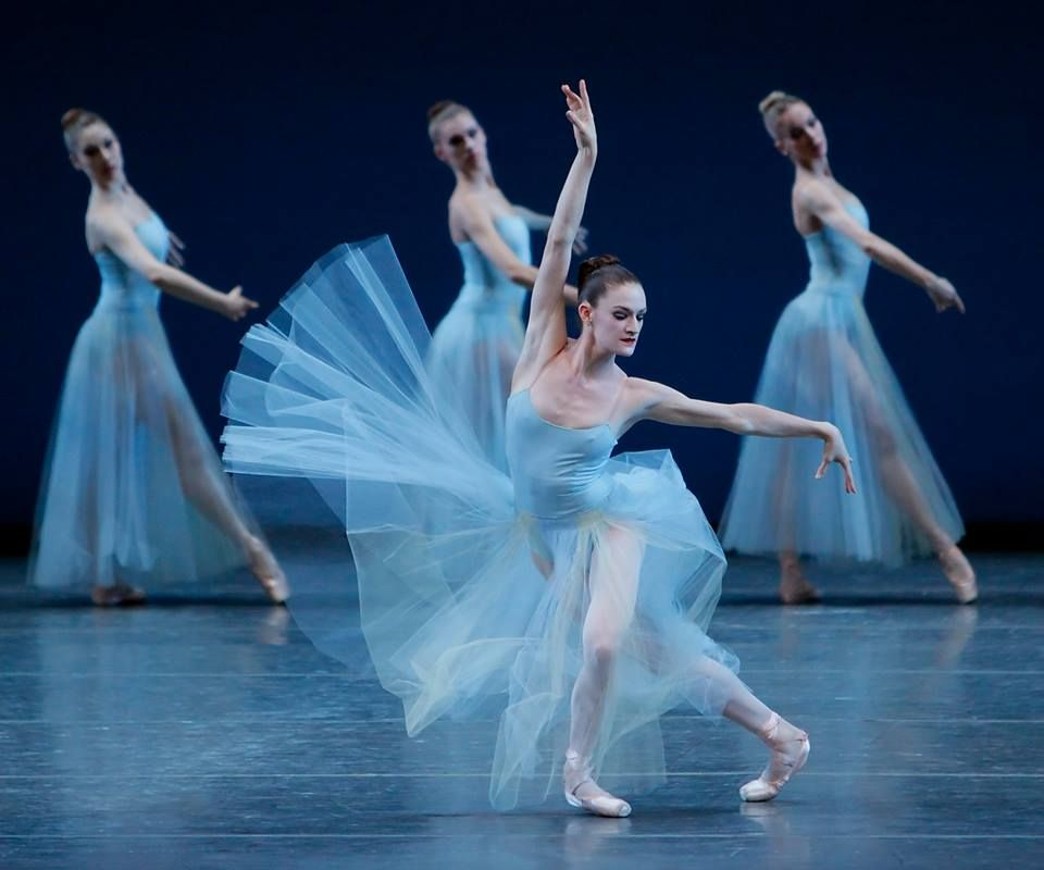 Serenade George Balanchine New York City Ballet The Best Ballet Ever City Ballet Dance Dreams Ballet Dancers