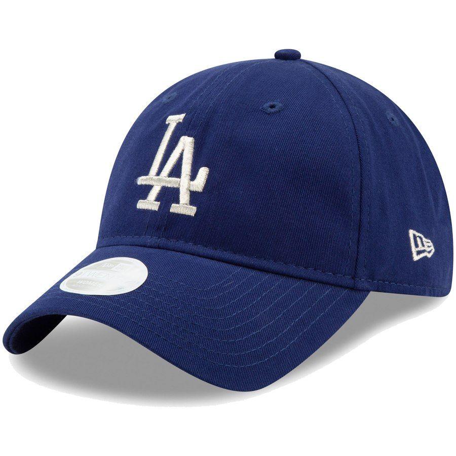 efc09863f33091 Women's Los Angeles Dodgers New Era Royal Stadium Collection Logo Beam  9TWENTY Adjustable Hat, Your Price: $21.99