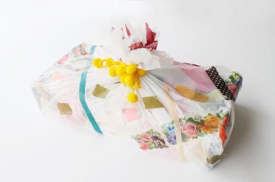 Transform a plastic bag