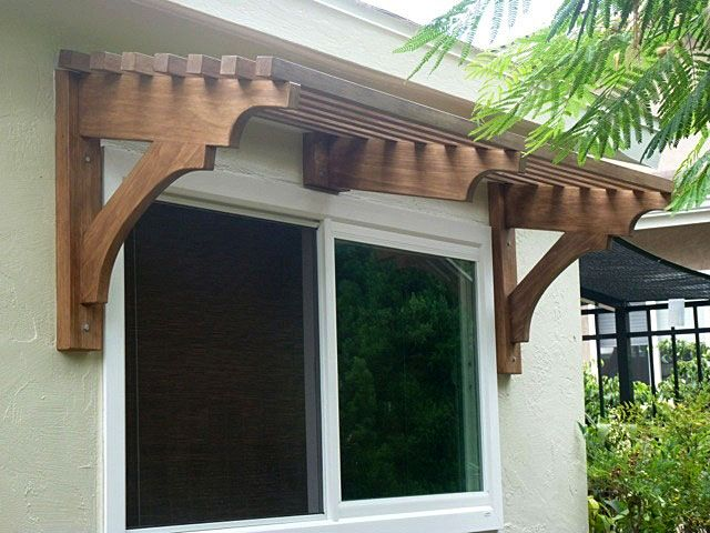 Window pergola for shade | Window & Door Pergolas | Pinterest ...