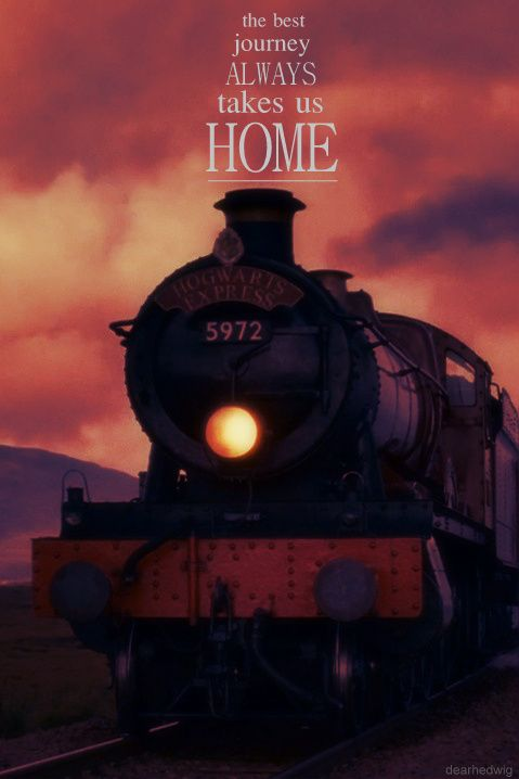 the best journey always takes us home harry potter universal