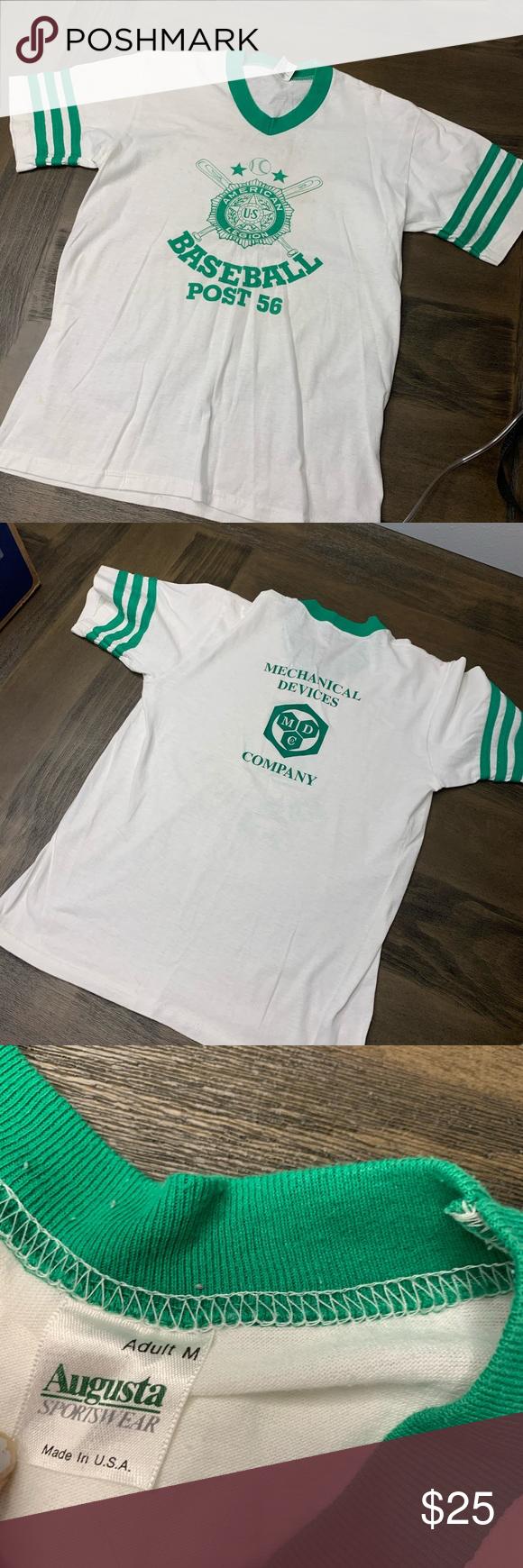 Vintage American Legion Baseball Shirt M Vintage American Legion Baseball Shirt M Shirts Tees Short Sleeve American Vintage Baseball Shirts American Legions