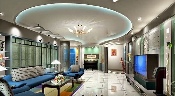 Led False Ceiling Lights For Living Room  Grafik Tasarım Best Pop False Ceiling Designs For Living Room Review