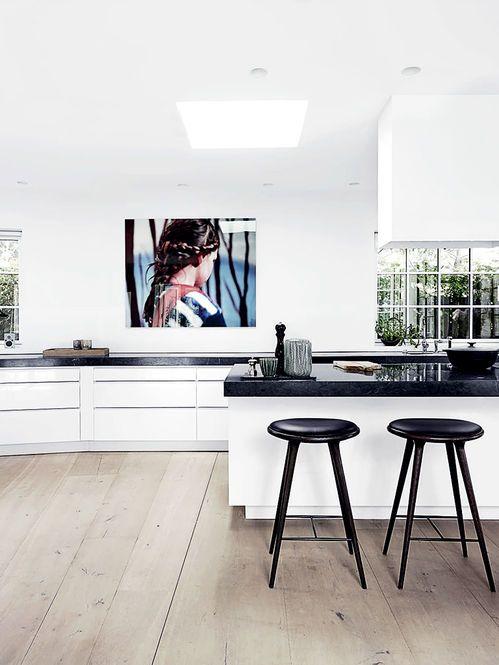 Banqueta 'Hight'. Designer: Space Copenhagen / Mater. Fotógrafo: Wichmann + Bendtsen - Elle Decoration UK Abril 2014