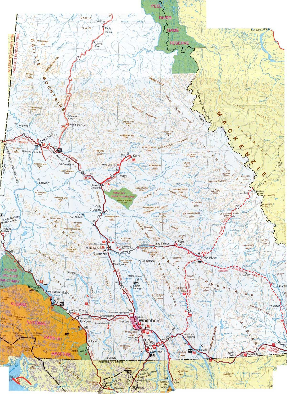 Check canada yukon map my travels my travels pinterest check canada yukon map gumiabroncs Gallery