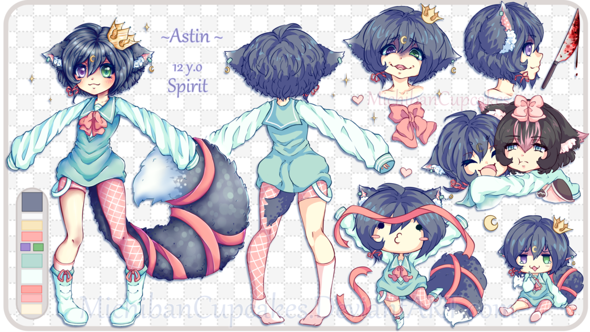 Image result for original character reference sheet