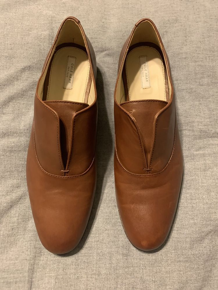 6dfa097bbabd5 Cole Haan Womens Brown Slip On Oxford Size 10 #fashion #clothing #shoes  #accessories #womensshoes #flats (ebay link)