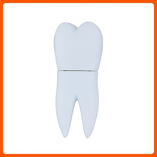 Usbkingdom 8GB 8G Tooth Shape Gift Cartoon USB Flash Drive