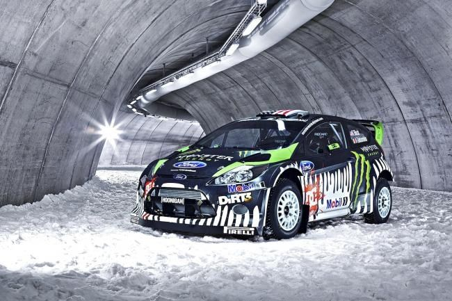Amazing Ken Block S 2011 Fiesta Wrc Seasoned With Monster Girls