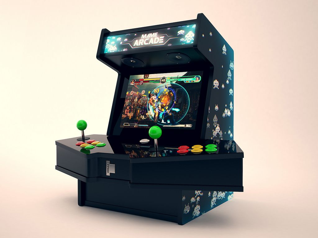 mini mame arcade cabinet kit cabinets matttroy. Black Bedroom Furniture Sets. Home Design Ideas