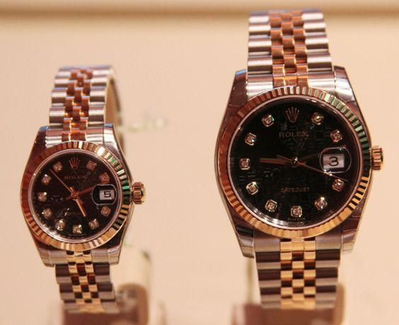 Men\u0027s and Ladies Replica Rolex Watch Gift Set