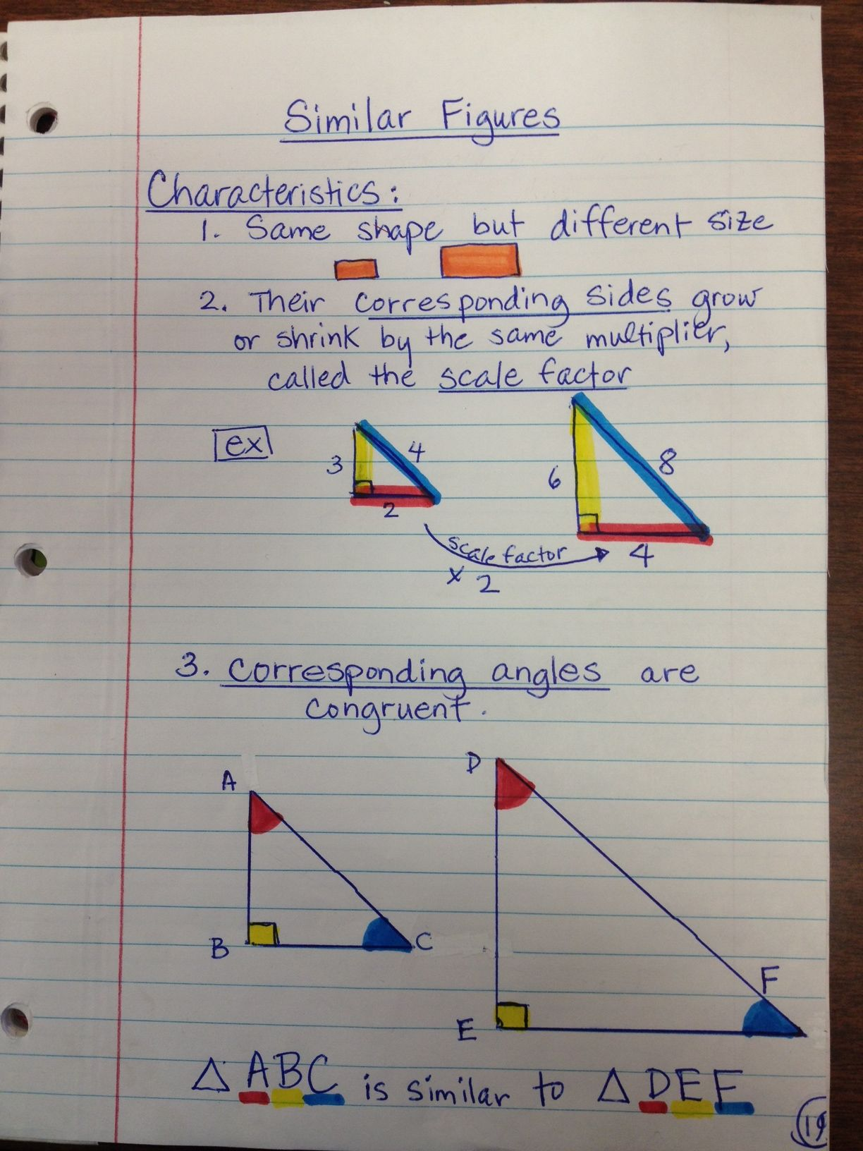 7th Grade Triangles Worksheet   Printable Worksheets and Activities for  Teachers [ 1632 x 1224 Pixel ]