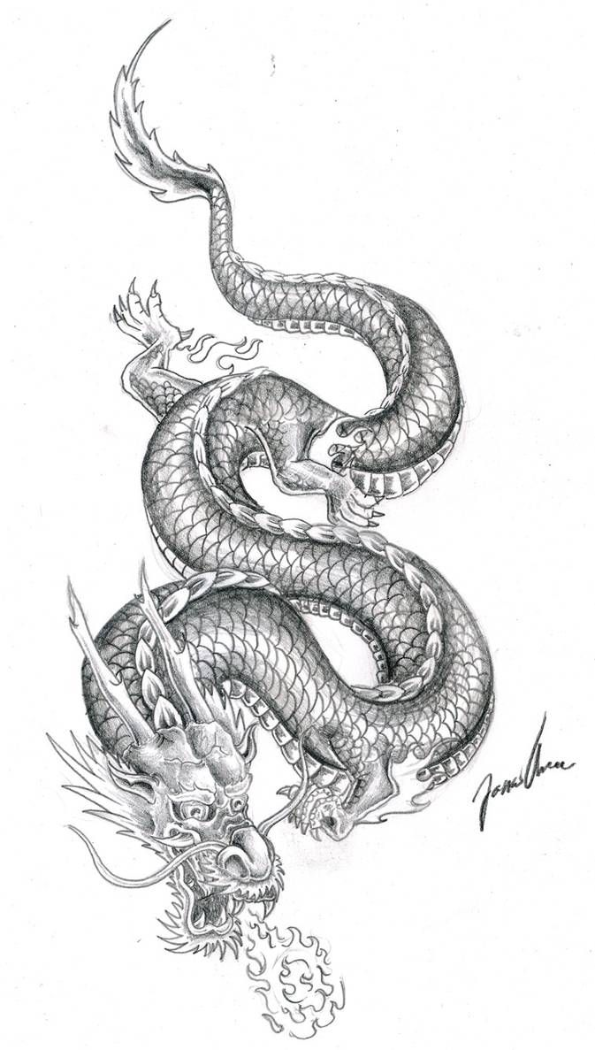 chinese dragon practice 2 by JonasOlsenWoodcraft on DeviantArt