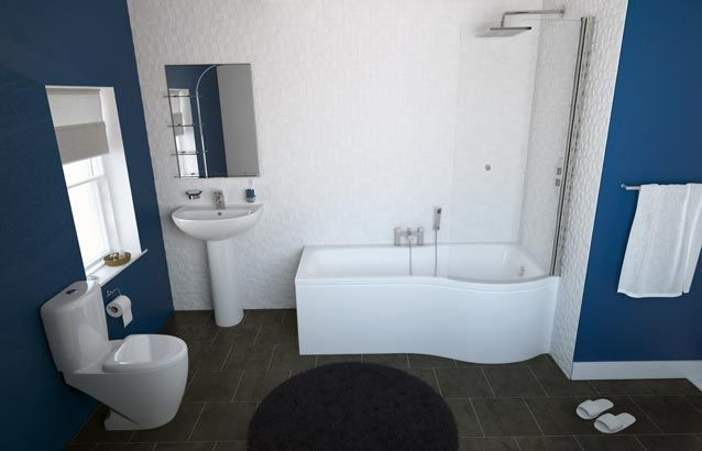 Essential Bathroom 3 Piece Bath Suite Bathroom Shower Bath Bathroom Suites