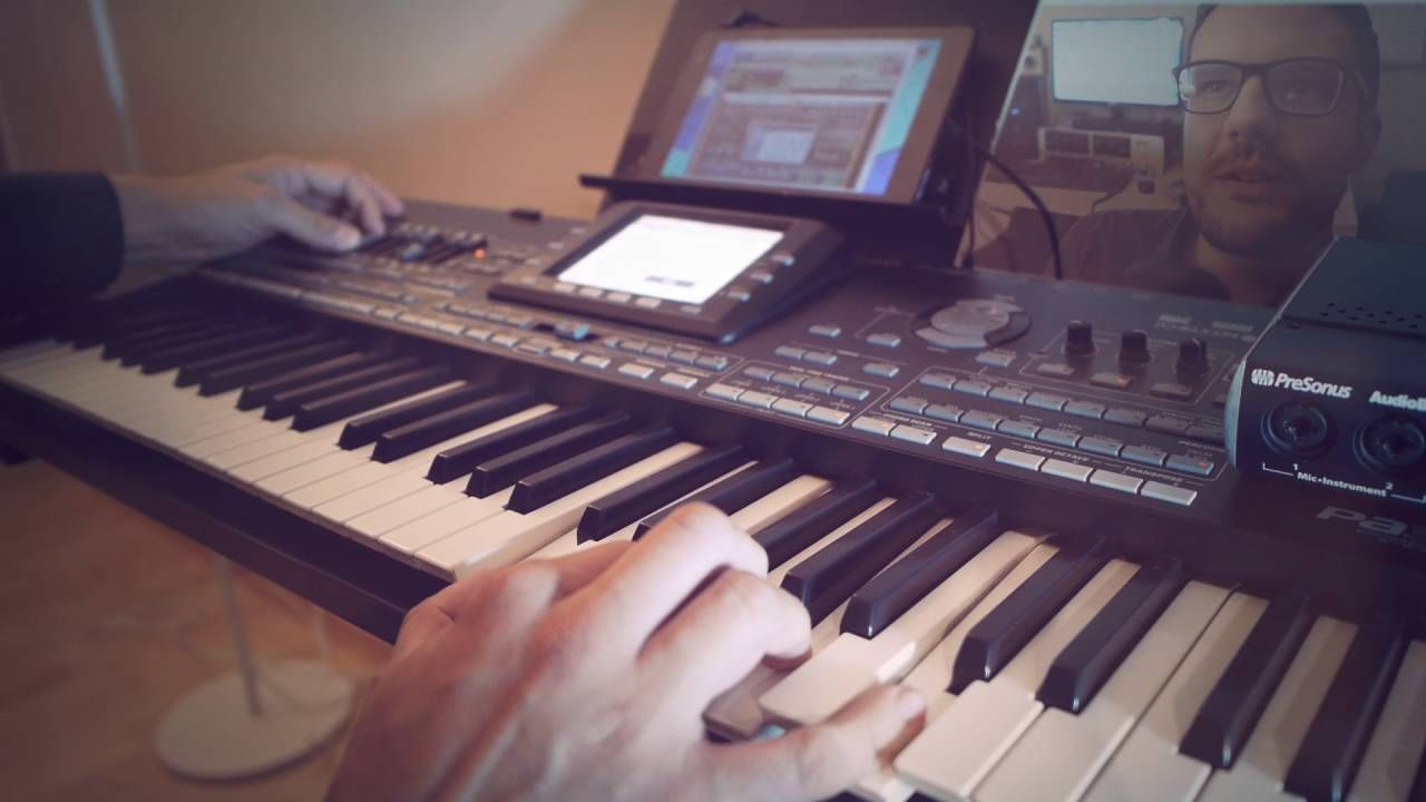 I Just Died In Your Arms Tonight - Korg Pa3x & Sylenth1 on