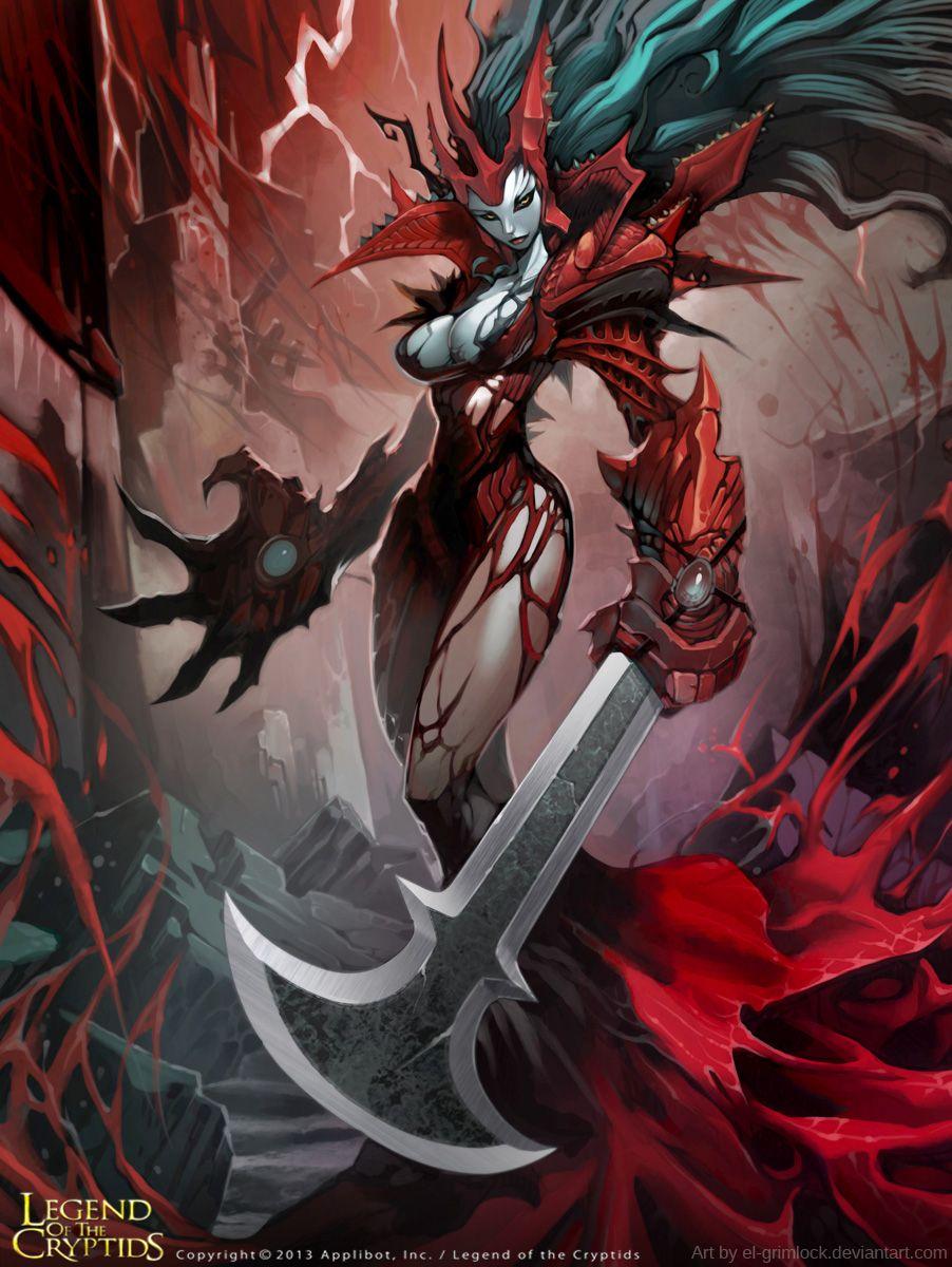 Crimson Queen Advanced By El Grimlock Deviantart Com On