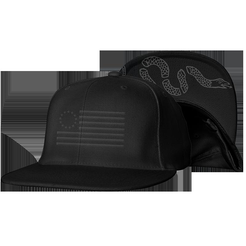 The Original Thirteen Snapback Blacked Out Edition Black Baseball Cap Black Baseball Hats