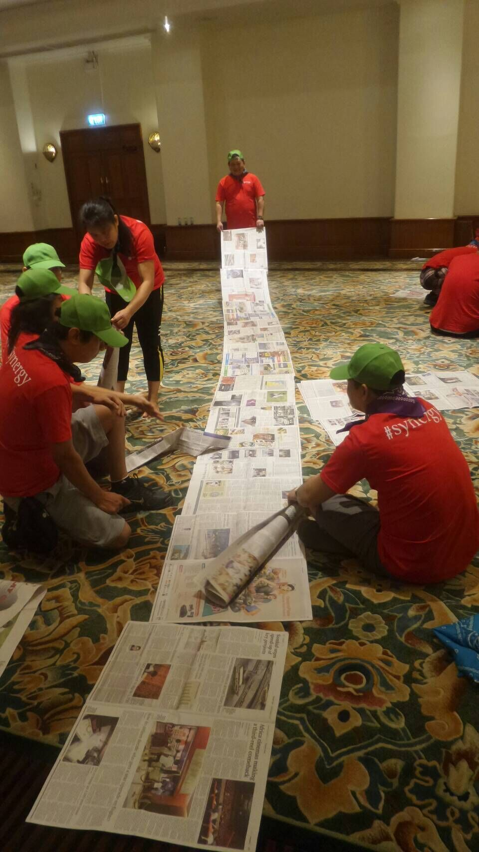 Open the gates to progress with Singapore corporate team