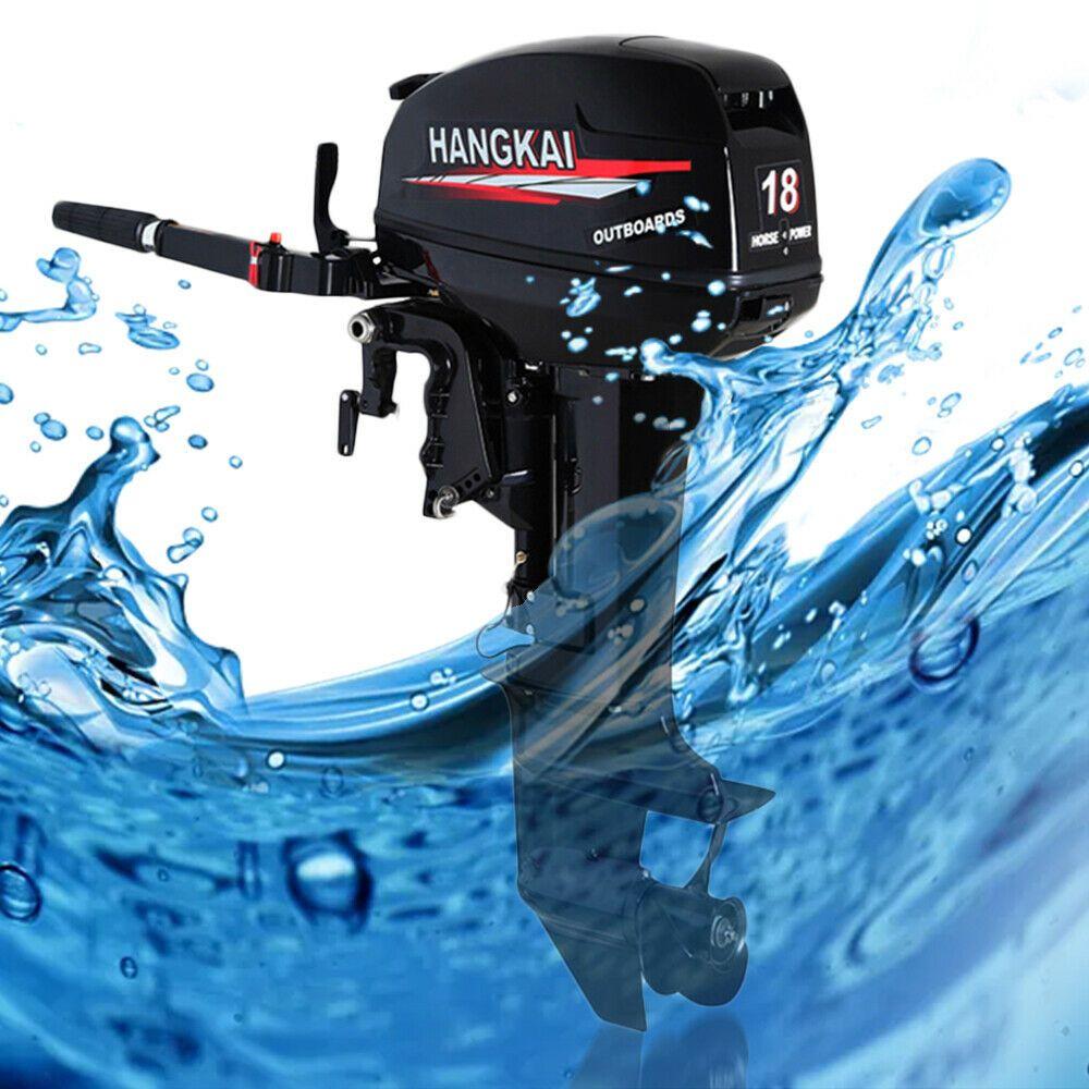 eBay #Sponsored Manual Start Water-cooling 2-Stroke 18HP Outboard