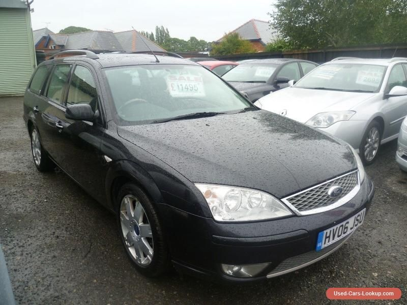 2006 Ford Mondeo Estate 2 0 Petrol Titanium X Black Ford Mondeo Forsale Unitedkingdom Ford Mondeo Cars For Sale Cars And Motorcycles For Sale