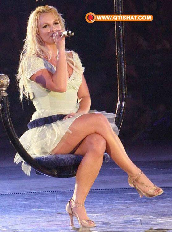 Britney spears legs were not