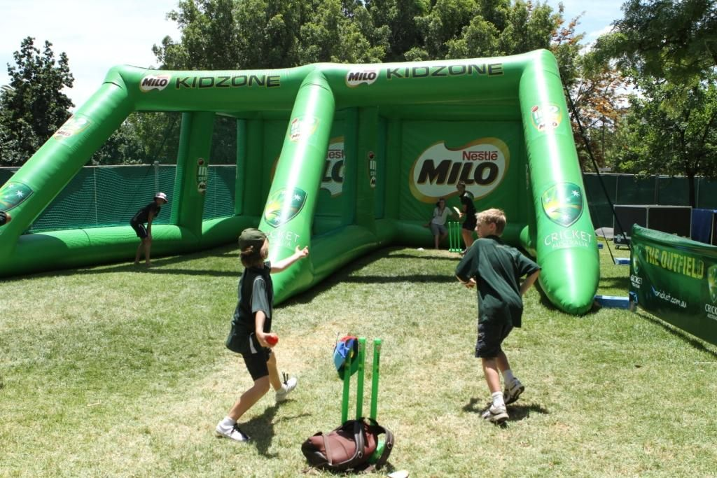 Double Cricket Nets Allow Your Team To Train Anywhere Skill