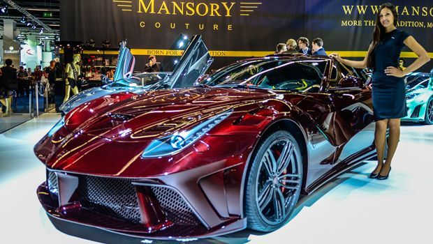 Wow (on the Mansory stand at the Frankfurt Motor Show)