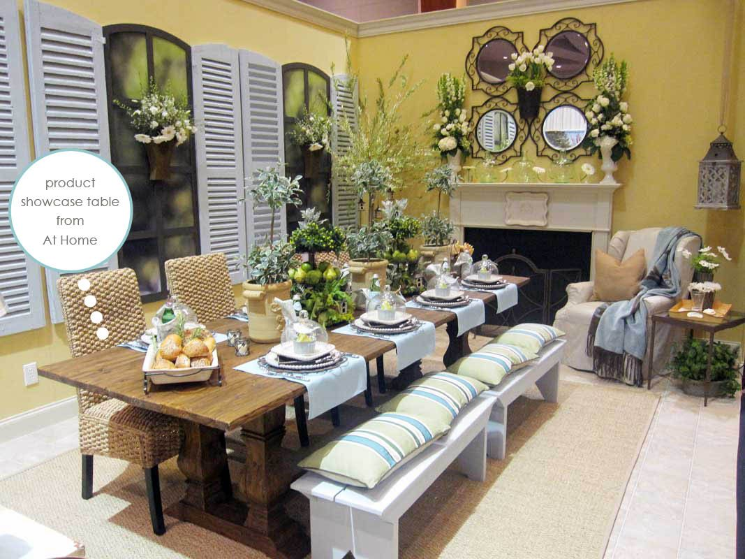 Love The Casual But Elegant Dining Room And Mantel This Is From Willow House Product Showcase At Our Annual Convention Want To Join Me Years