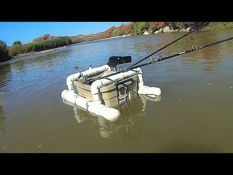 Diy floating camera base and fishing rod holder youtube for Homemade fishing rod holders