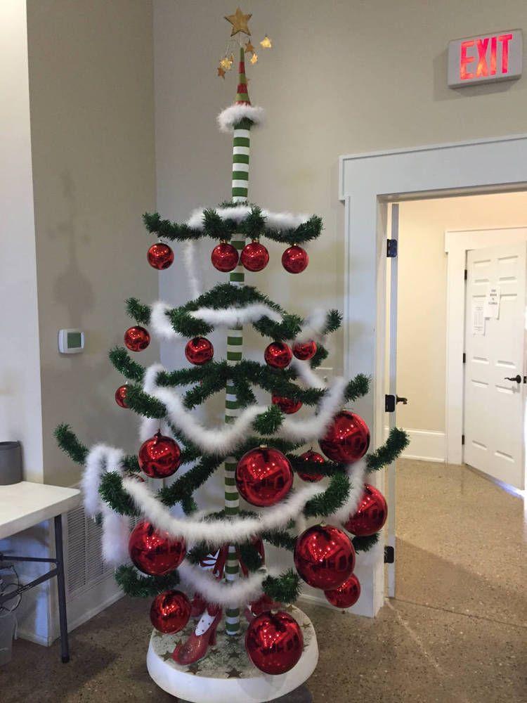 8 FOOT TALL DEPT DEPARTMENT 56 KRINKLES CHRISTMAS TREE PATIENCE ...