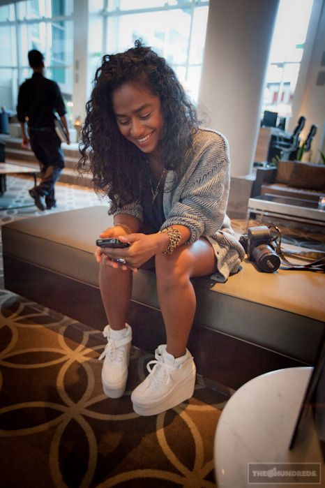 Air Force 1 High Outfit : force, outfit, Fashion, #blog, Force, Outfit,, Brown, Ones,, Casual, Outfit