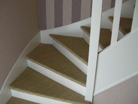 Resultat De Recherche D Images Pour Escalier En Jonc De Mer Renovation Escalier Bois Escalier Deco Escalier