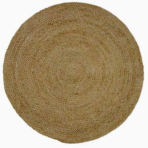 Pin On Shine, Small Round Straw Rug