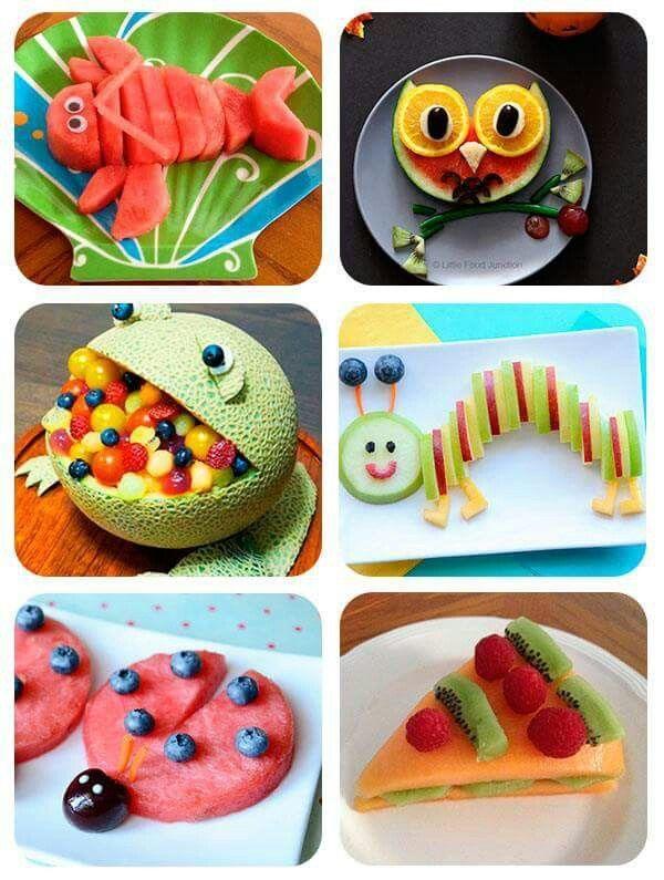 Richtest du so Obst für Kinder an, wird der Teller leer gegessen. #repasdefete