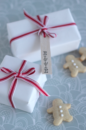 DIY: Balsa Wood Gift Tags