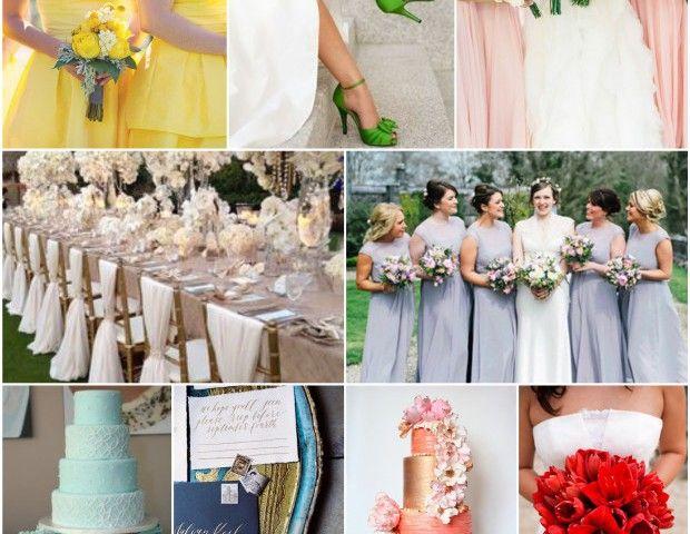 Tendencia de colores para bodas primavera verano 2016 Consejos y